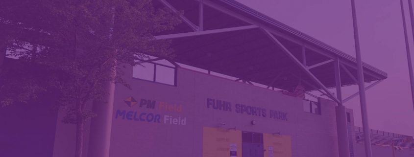 Fuhr Sports Park entrance in Spruce Grove